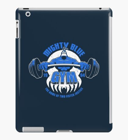 Mighty Blue Gym iPad Case/Skin