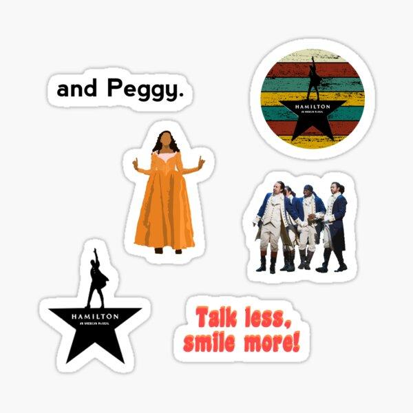 Hamiltion Collage Sticker