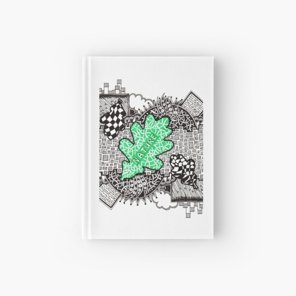 Nature - Doodle Drawing Hardcover Journal