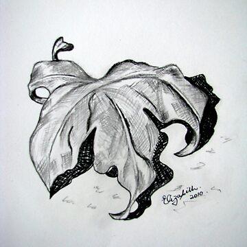 Dry leaf by Happyart