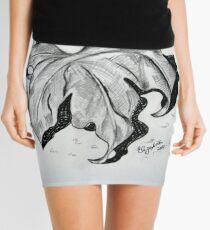 Dry leaf Mini Skirt