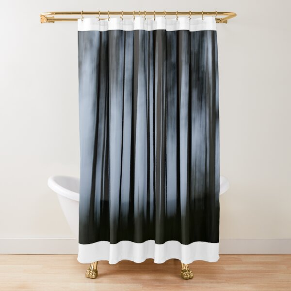 Darkness Shower Curtain