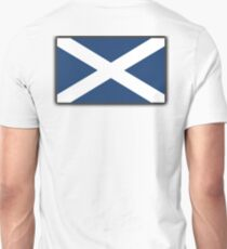 Scotland, Flag of Scotland, Scottish Flag, Saltire, Pure and Simple, SNP, S.N.P, Scottish Independence, Scots,  Unisex T-Shirt