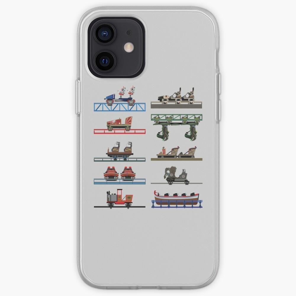Europa Park Coaster Cars Design   Coque iPhone