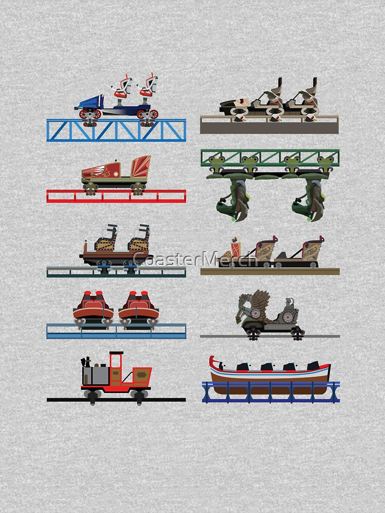 Europa Park Coaster Cars Design by CoasterMerch