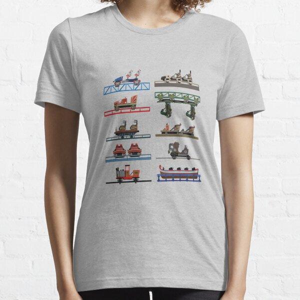 Europa Park Coaster Cars Design Essential T-Shirt