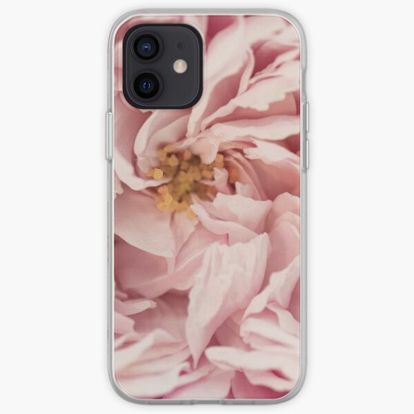 A Pink English Rose No.5 iPhone Soft Case