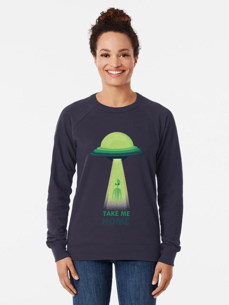 Alternate view of Take Me Home Lightweight Sweatshirt