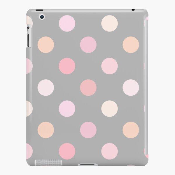 Dusty Pink Polka Dots iPad Snap Case