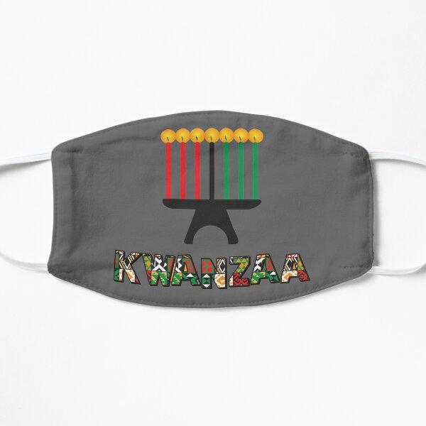 Happy Kwazaa Holiday Celebration Gift Flat Mask