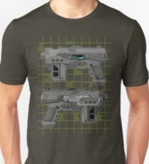 Lawgiver MKII Double Schematic Vector T-Shirt
