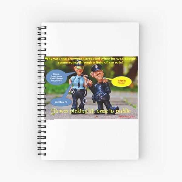 Picking Carrots Spiral Notebook