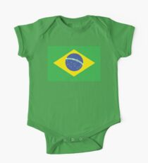BRAZIL, BRAZILIAN FLAG, FLAG OF BRAZIL, PURE & SIMPLE, Brazil, Soccer, Football, Olympics, on GREEN Kids Clothes