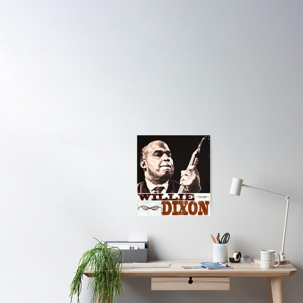 Willie Dixon Print Poster Blues Bass