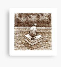 Remote Past Canvas Print