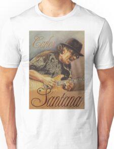 Carlos Santana (pastel drawing) Unisex T-Shirt