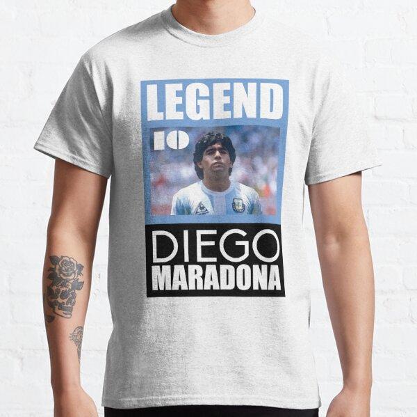 hellblau Maradona Legend T-Shirt