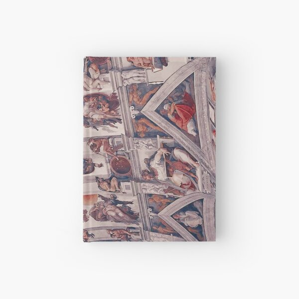 The Ceiling of the Sistine Chapel Hardcover Journal