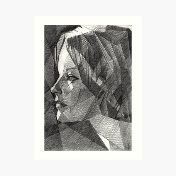 Romy Schneider Art Print