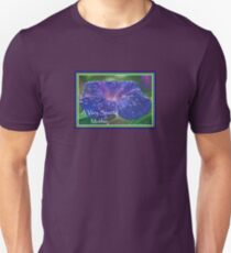 A Very Special Mother Deep Purple Morning Glory Unisex T-Shirt