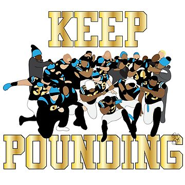KEEP POUNDING by Easygraphixs