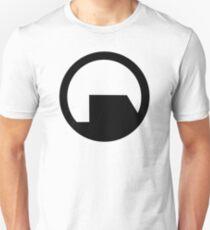 Schwarzes Mesa Slim Fit T-Shirt