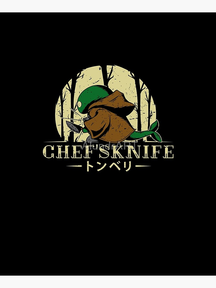 Chef's Knife by AlundrART