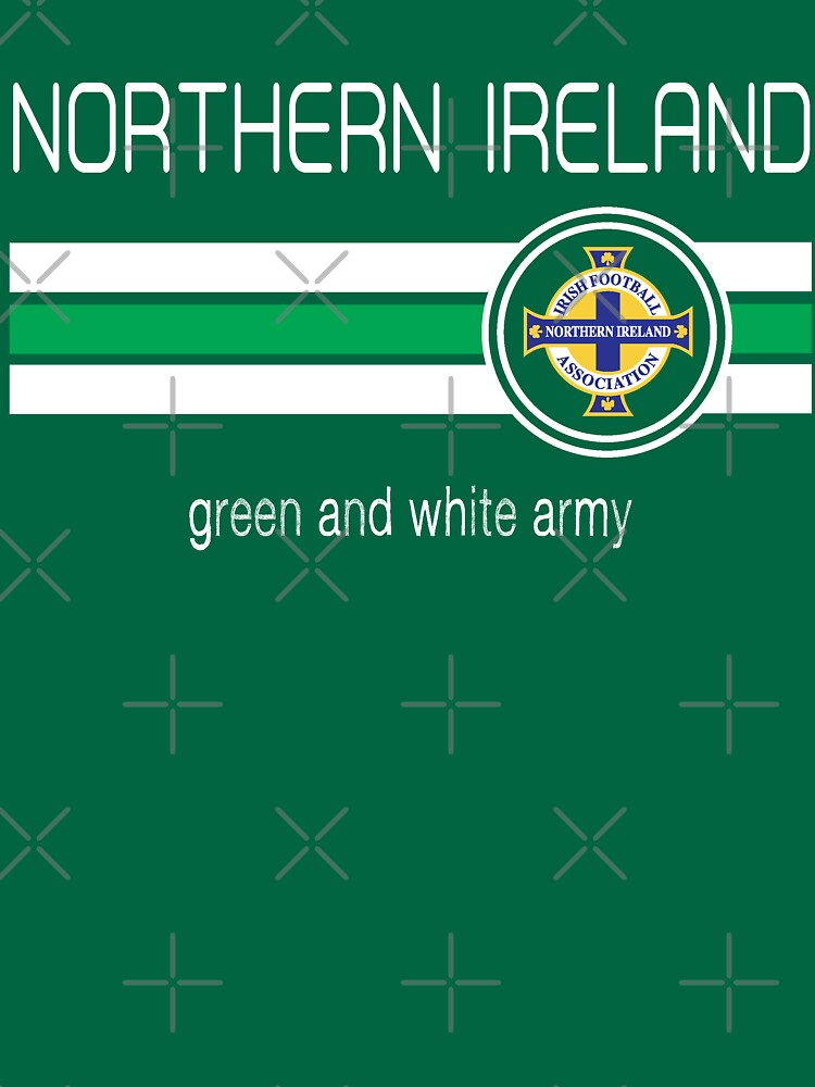 Euro 2016 Football - Northern Ireland (Home Green) | Unisex T-Shirt