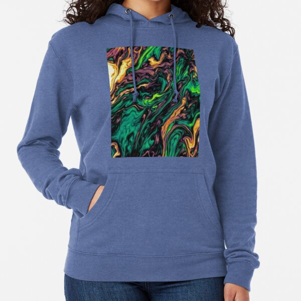 Paint Abstract  Lightweight Hoodie