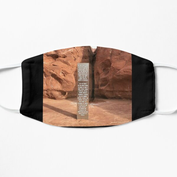 Utah Monolith Flat Mask