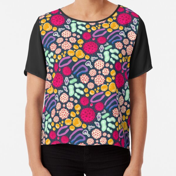 Our little roommates - the gut microbiome Chiffon Top