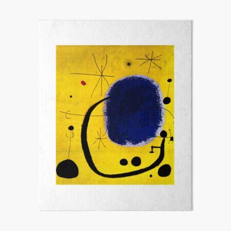 Joan Miro Impression rigide