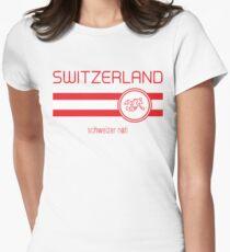 Euro 2016 Football - Switzerland (Away White) T-Shirt