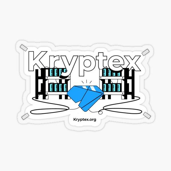 Kryptex Sticker Transparent Sticker