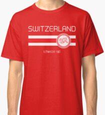 Euro 2016 Football - Switzerland (Home Red) Classic T-Shirt