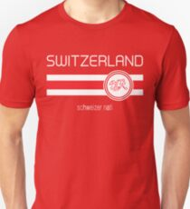 Euro 2016 Football - Switzerland (Home Red) T-Shirt