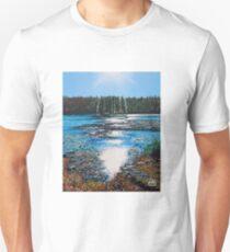 'Light Shines on Bass Lake' Unisex T-Shirt