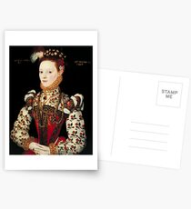 British School 16th century - A Young Lady Aged 21, Possibly Helena Snakenborg, Later Marchioness of Northampton, Tate Britain Postcards