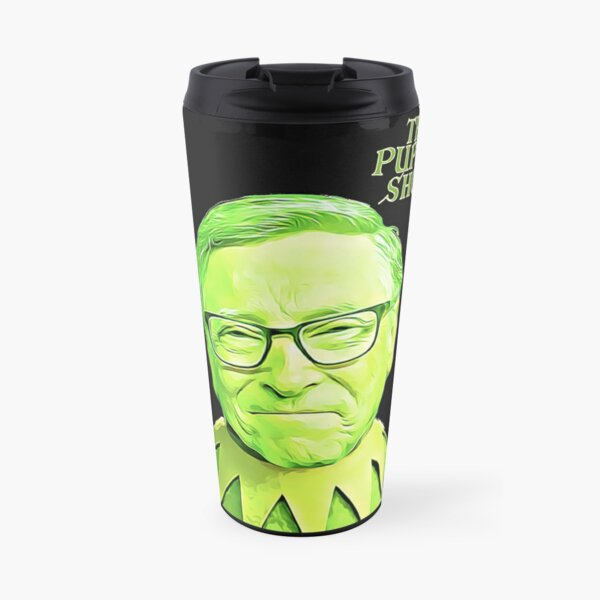 Bill Gates - The Puppet Master Travel Mug