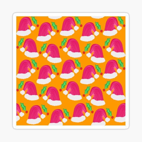 Santa hats  Sticker
