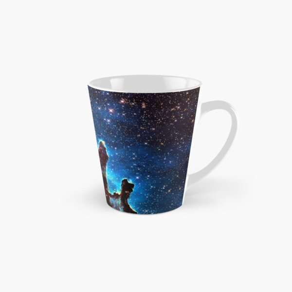 Pillars of Creation combining visible and infrared images. Astronomy Tall Mug