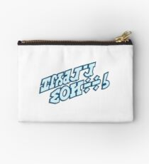 STAR WARS HOLIDAY SPECIAL CARTOON TITLE PLATE Studio Pouch