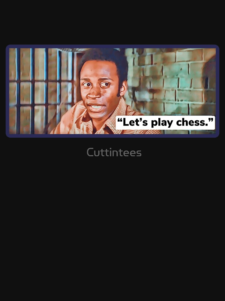 Blazing Saddles / Let's play chess by Cuttintees
