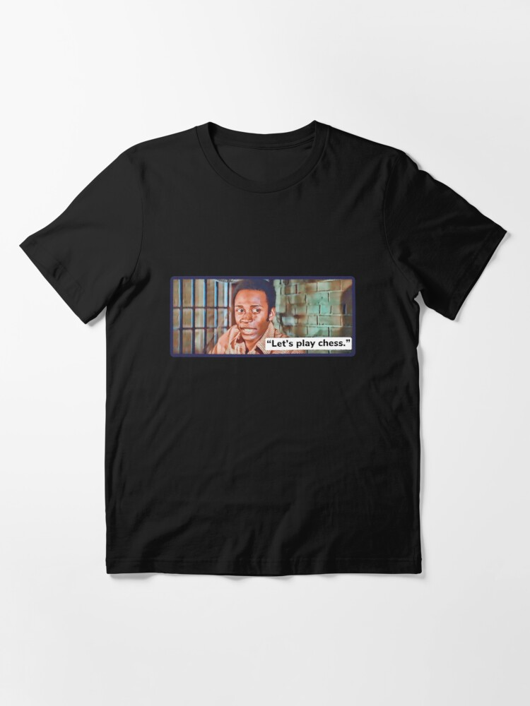 Alternate view of Blazing Saddles / Let's play chess Essential T-Shirt