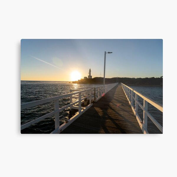 Point Lonsdale Lighthouse Metal Print