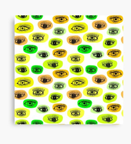 eyes motive Canvas Print