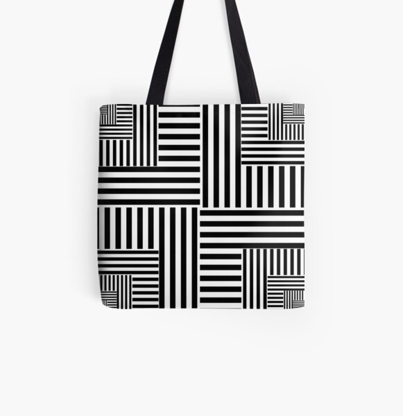Gold Ratio All Over Print Tote Bag
