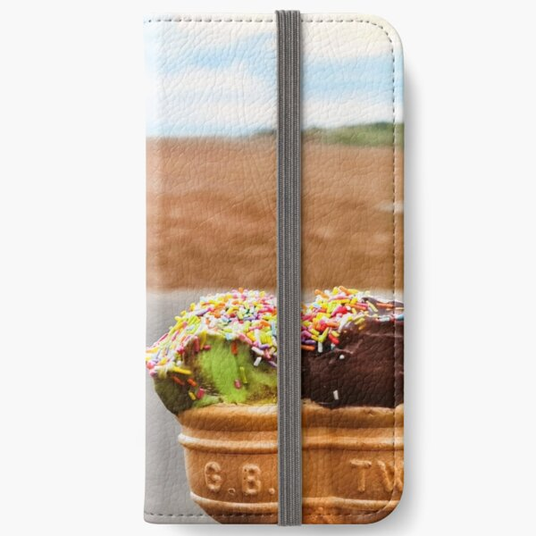 Ice Creams at the Beach iPhone Wallet