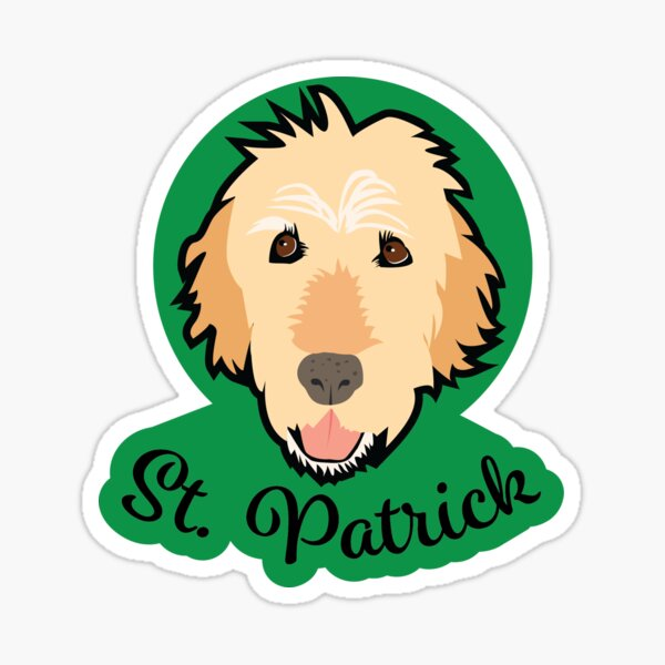 St Patrick Sticker