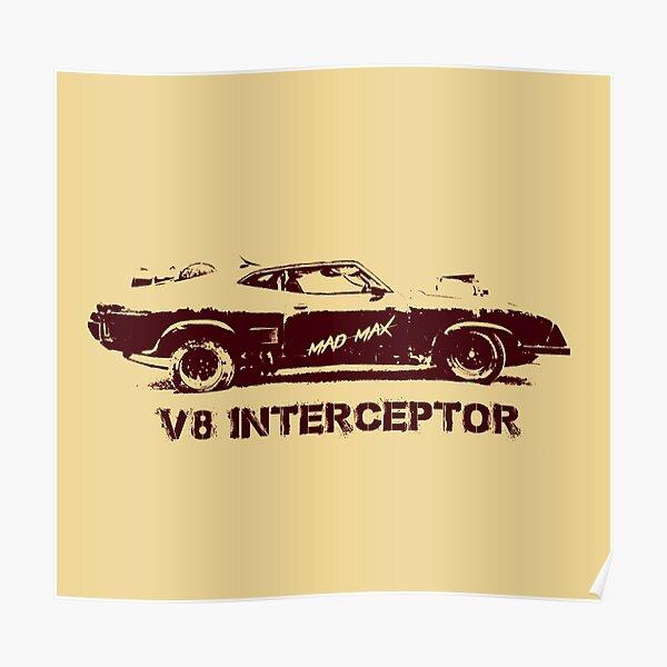 V8 Interceptor (Mad Max) Poster